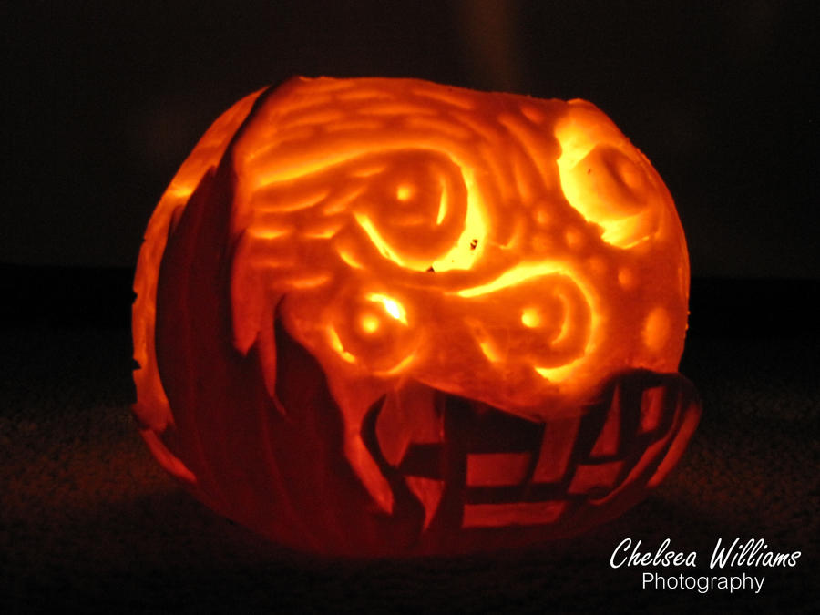 Starry Night Pumpkin by chelsea2435