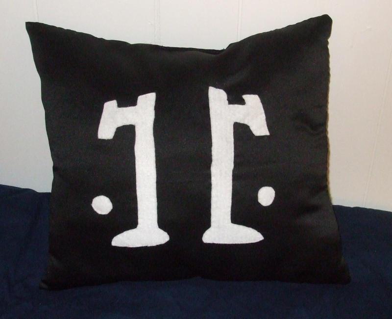 Rorschach Pillow by alexiamorana