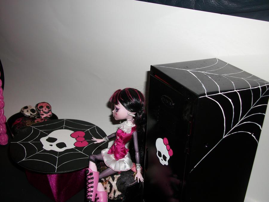 Как мебель для кукол монстер хай своими руками 35