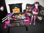 Monster High Pool Table