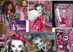 Custom OOAK Monster High Dolls