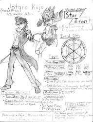 Jojo x Pokemon: Jotaro Kujo