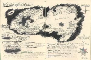 World of Abyss Map: Cross World XIV