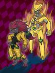 Jojo's Bizarre Pokemon: DIO and The World