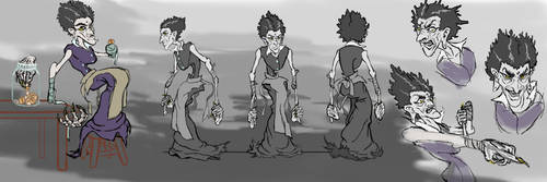 Character Design Final Project: Mrs. Pratchett