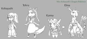 Pokemon Dragon-Maid (Concept Art 1)