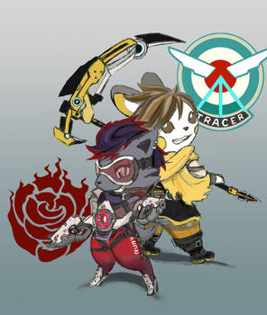 PxA Week: Day 5: Overwatch x RWBY by RekstheEnigma