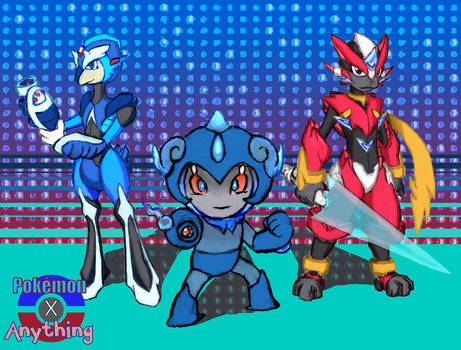 Pokemon + Mega Man by RekstheEnigma