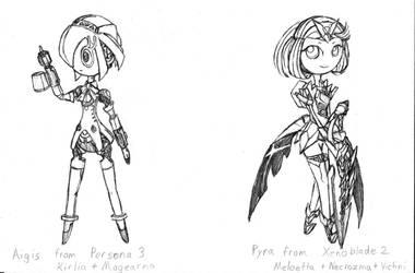 Persona and Xenoblade + Pokemon