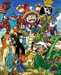 One Piece x Pokemon: Straw Hats Pirates