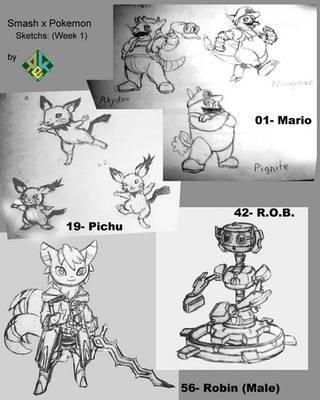 Smash Bros x Pokemon: Week 1