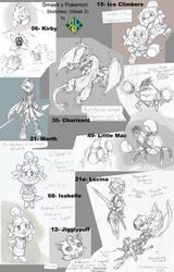Smash Bros x Pokemon: Week 2