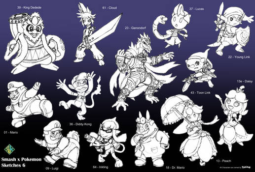 Smash x Pokemon: 6