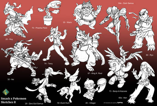 Smash x Pokemon: 8