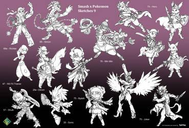 Smash x Pokemon: 9