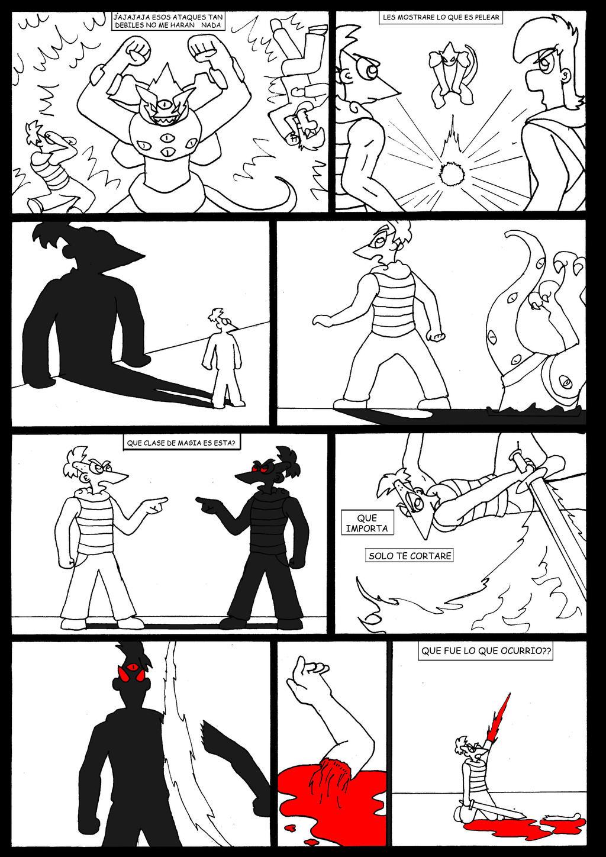 Phineas Ferb y la Piedra del Destino 2 Pagina 65 by firerirock