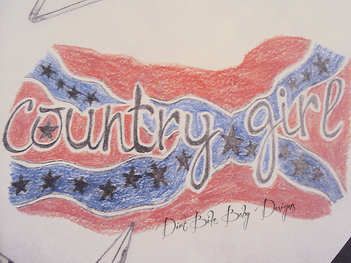 Country tattoos for girls beautiful tattoos art for Country tattoo ideas