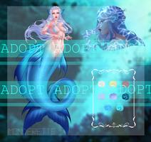 Mermaid [Adopt #7] by Monderette