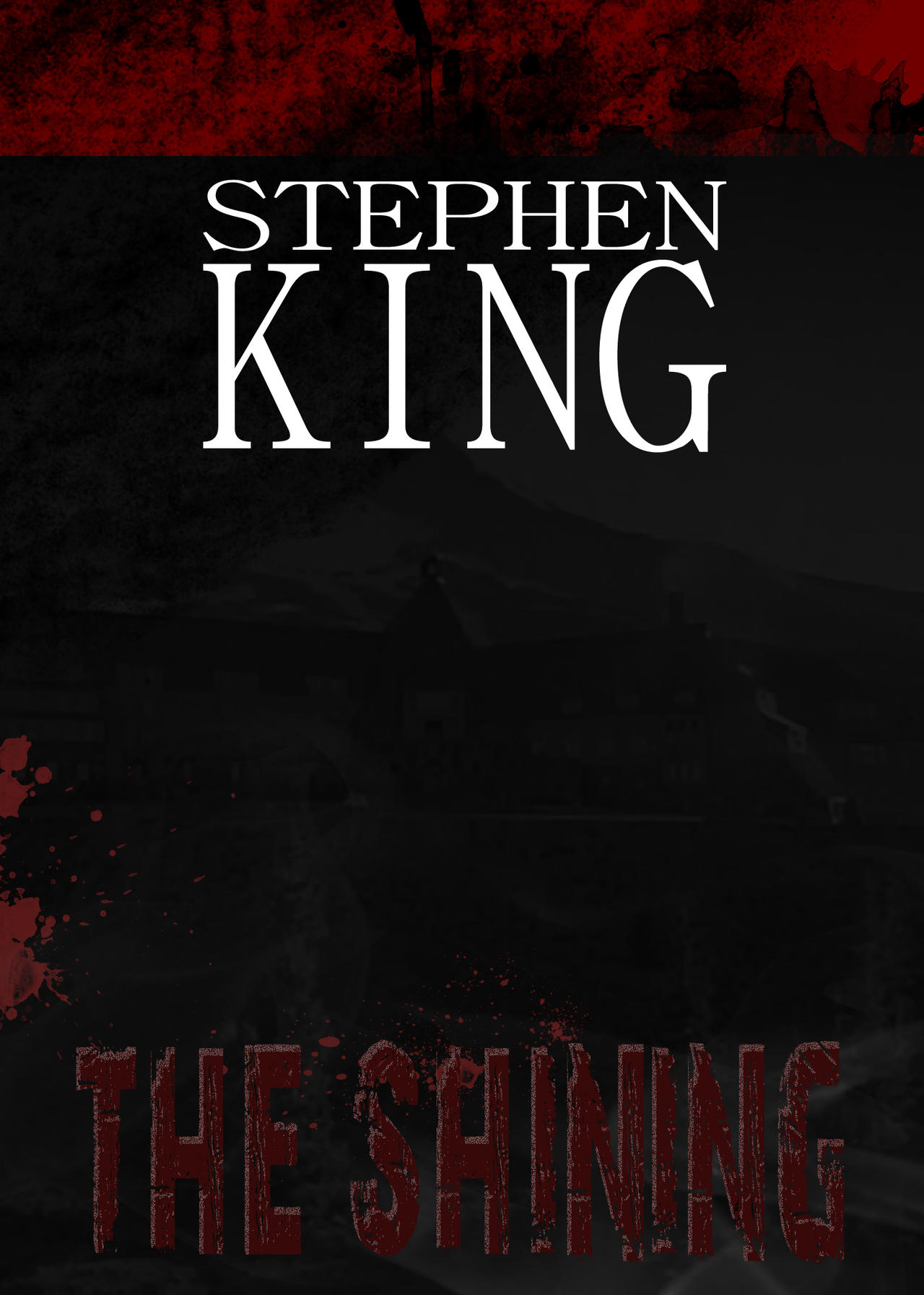 The Shining (book cover project) by Sedrice on DeviantArt
