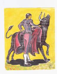 Bullfighter by charlaen