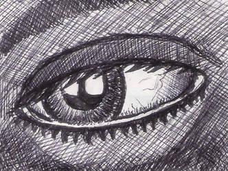 Dark Eye by charlaen