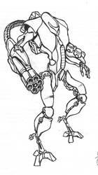 Assault Bot by charlaen