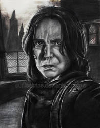 Severus Snape by AvongaleArt