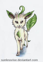 Leafeon by AvongaleArt