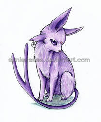 Espeon by AvongaleArt