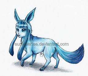 Glaceon by AvongaleArt