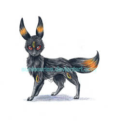Umbreon by AvongaleArt