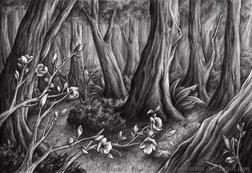 The Blossoming Woods by AvongaleArt