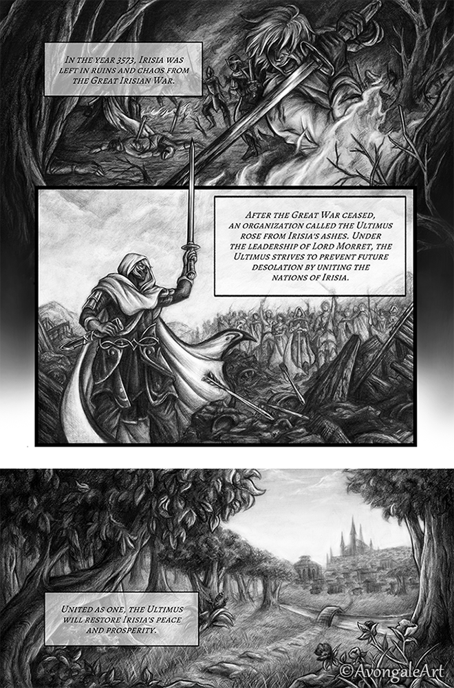 Reforged: Page 1, Chapter 1