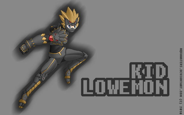 Digimon Frontiers - KidLowemon by AquaWaters
