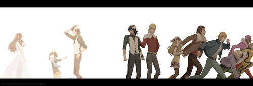 Tiger and Bunny - Family (Extended) by AquaWaters