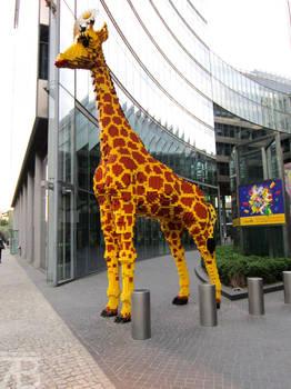Building Block Giraffe