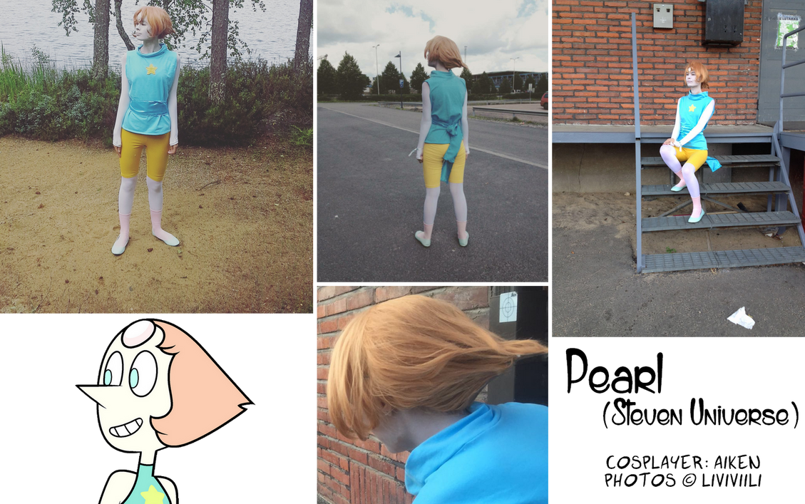 Pearl cosplay by AikenLugiA