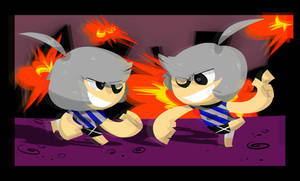 Kev and Vek by Captain-Dark-Kitty