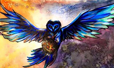Owl of Sleepy Hollow by ElenaMae