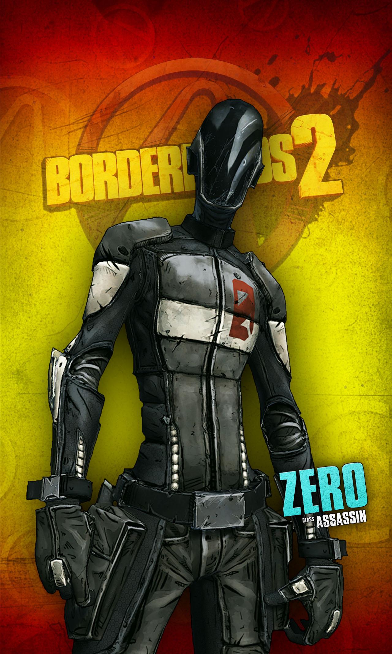 Zero Borderlands Cosplay