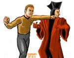 What if Kirk met Q?