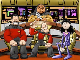 Pop Trek - The Next Generation by zenzmurfy