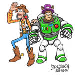 One-piece-toy-story-crossover