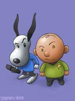 PeanutsTrek by zenzmurfy