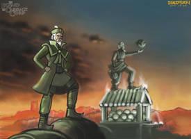 Legend of Cabbage Corp by zenzmurfy