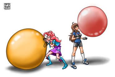 PinkiePie  Anti-Cellman OC Xeno Balloon vs Bubble