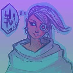 Cyborg SketchPainting