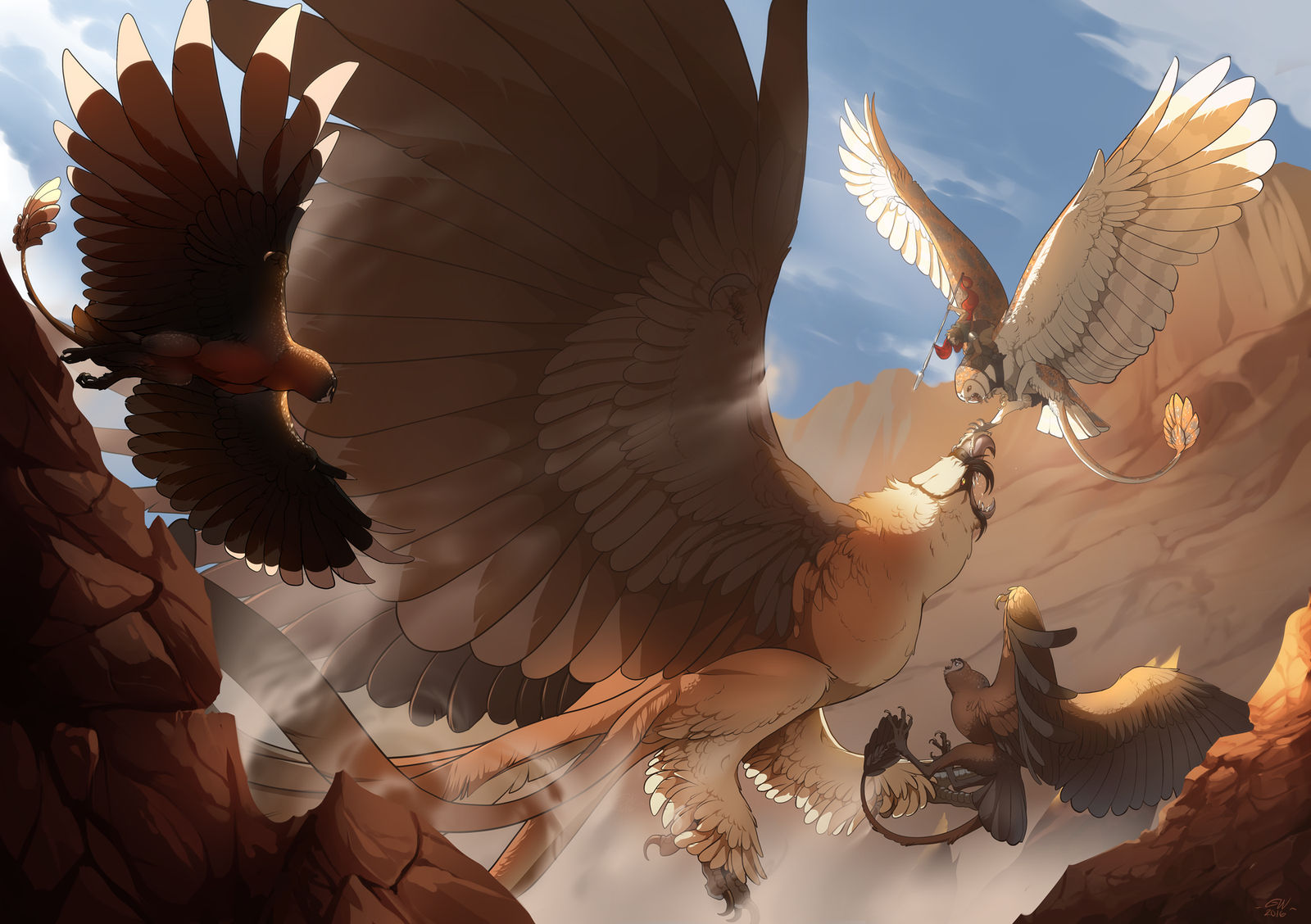 I'll attack!   GRYPH EVENT