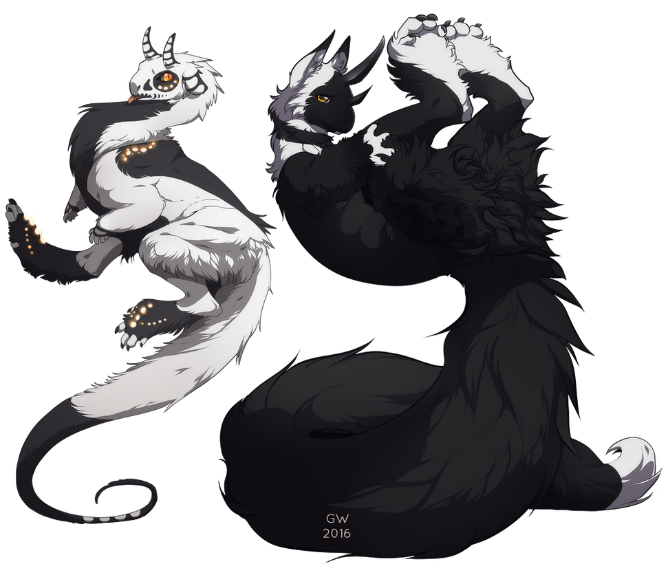 Ruoto and Umbra by GryAdventures