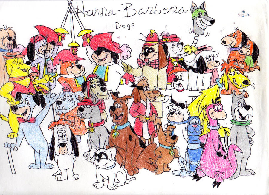 Can you name the animal species of these beloved Hanna ... |Hanna Barbera Animals